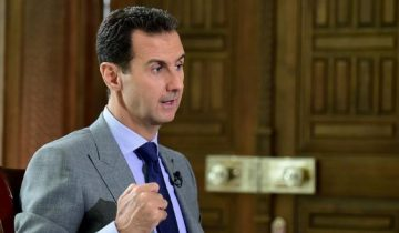 Assad gives interview to Russian newspaper