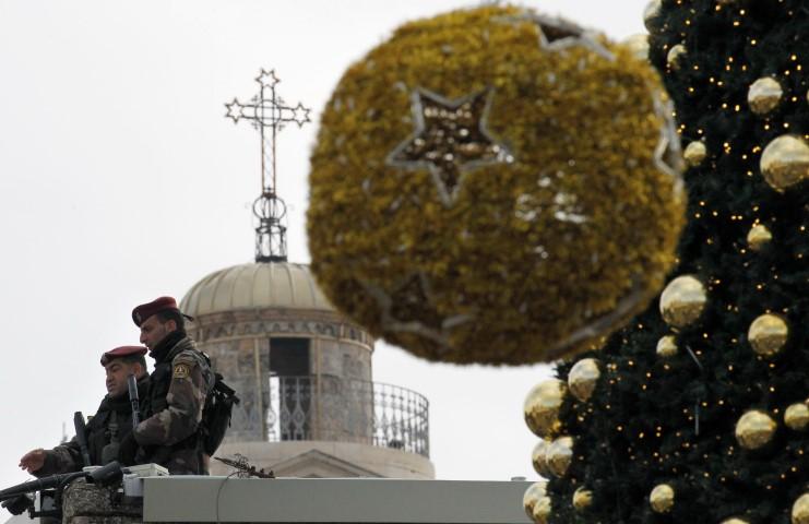 PALESTINIAN-RELIGION-CHRISTIANITY-CHRISTMAS