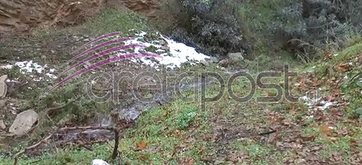 Το σημείο όπου βρέθηκε το πτώμα του 40χρονου Ιάκωβου Εμμανουήλ, στη Ροδιά.
