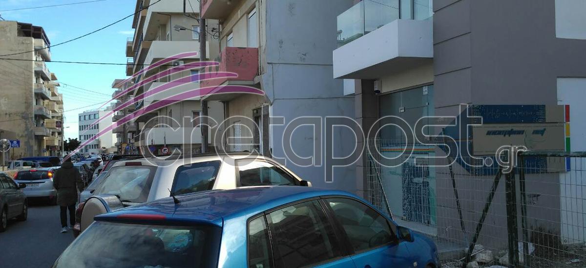 Το γραφείο του 40χρονου επιχειρηματία και του συνεργάτη του βρίσκεται στην οδό Μητσοτάκη στο κέντρο του Ηρακλείου.