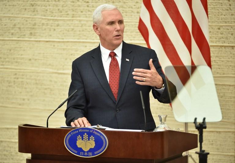 Ο αντιπρόεδρος των ΗΠΑ, Μάικ Πενς