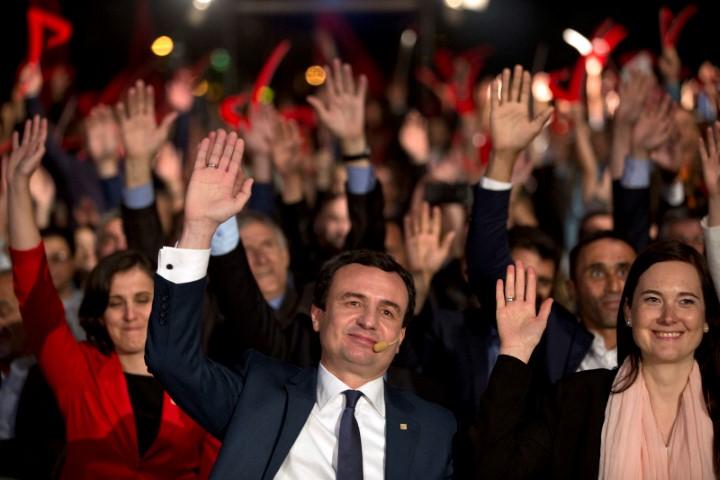 Ο επικεφαλής του ακραίου εθνικιστικού Κόμματος της Αυτοδιάθεσης (VV), Άλμπιν Κούρτι