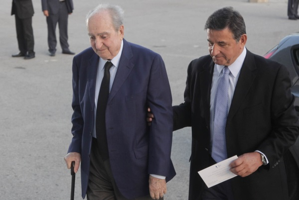 Ο Μανούσος Γρυλλάκης με τον Κωνσταντίνο Μητσοτάκη / Φωτογραφία: Eurokinissi