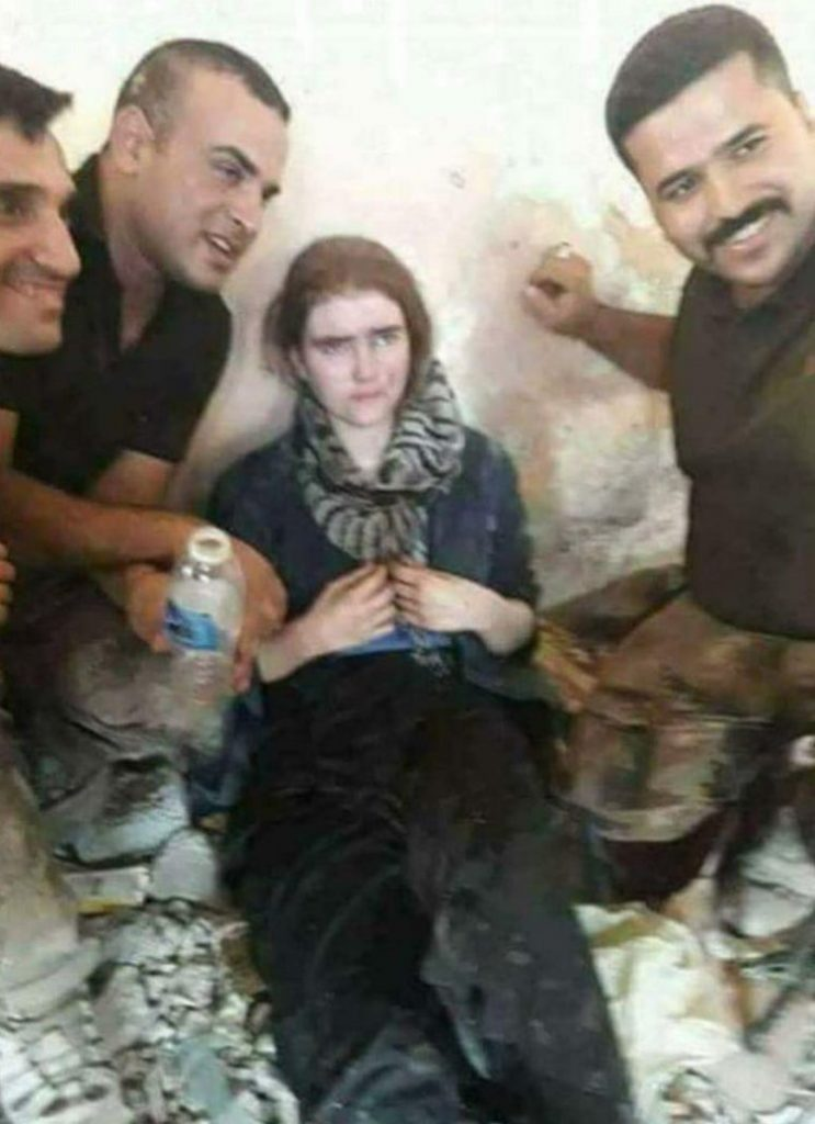 Linda Wenzel German girl captured in Mosul who is said to have left Dresden to join ISIShttps://twitter.com/n_iraq67