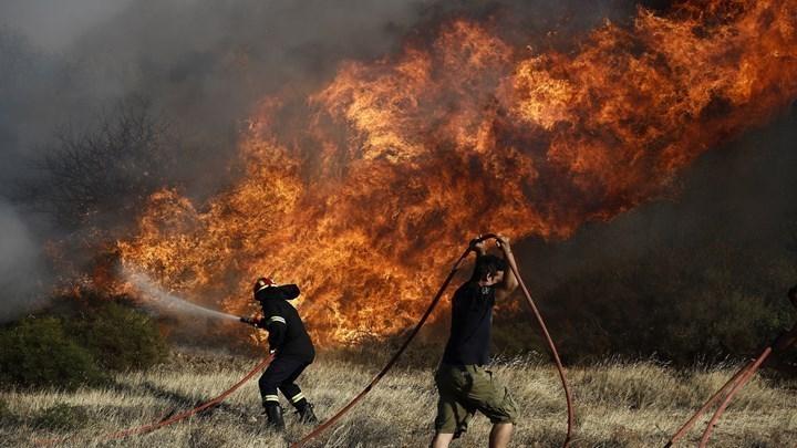 Οι περισσότερες φωτιές εκδηλώθηκαν στους νομούς Ηρακλείου και Λασιθίου
