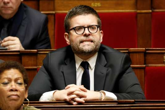 French Member of Parliament Luc Carvounas attends the questions to the government session at the National Assembly in Paris