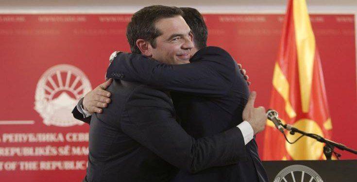 Alexis Tsipras, Zoran Zaev