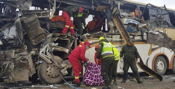 Bolivia Bus Accident