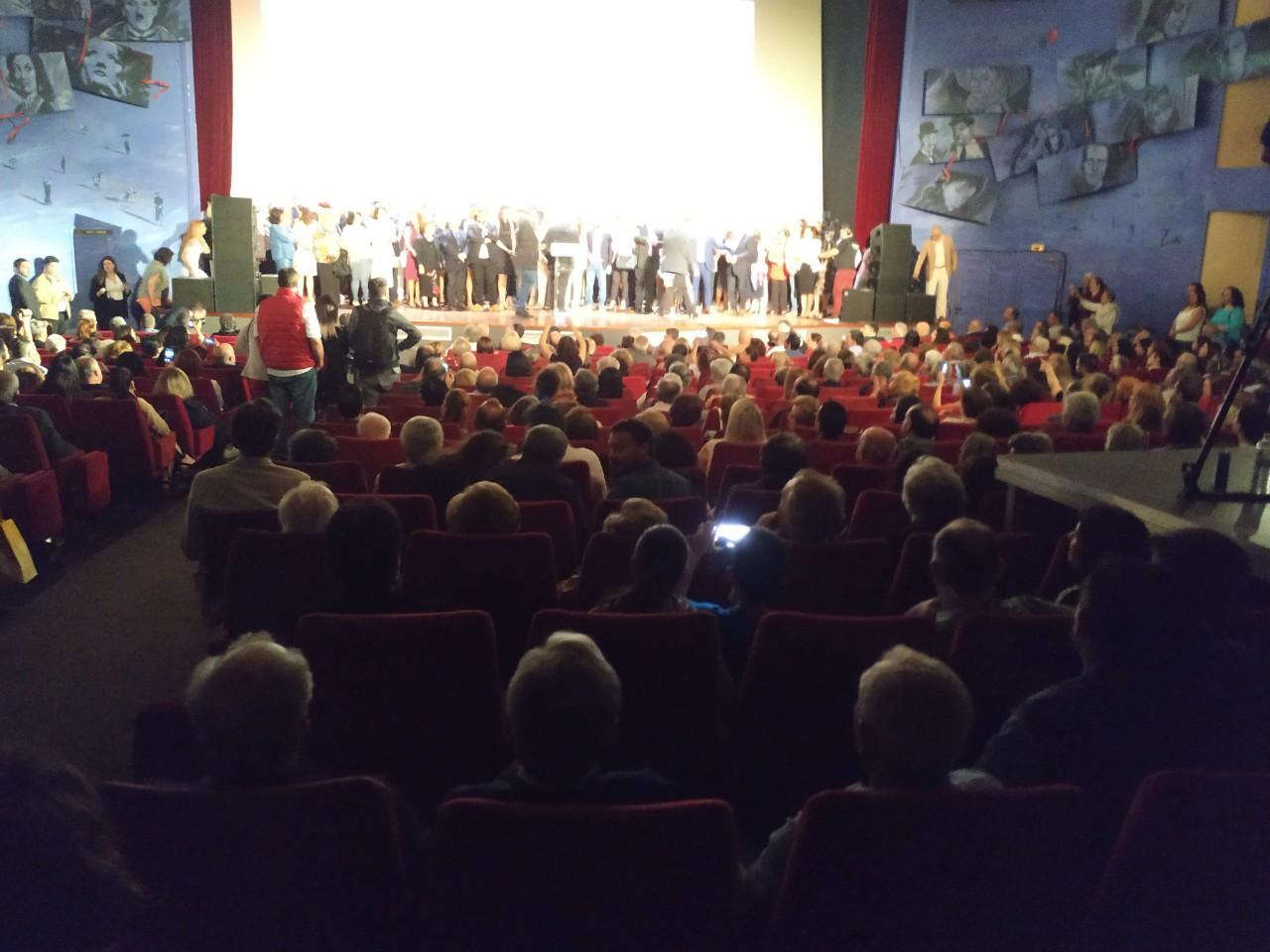 Προεκλογική συγκέντρωση Βασίλη Λαμπρινού.