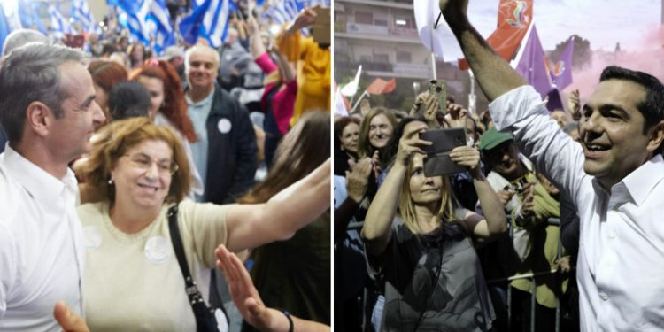 mitsotakis-tsipras-omilies-patra-agrinio-2019-05-20