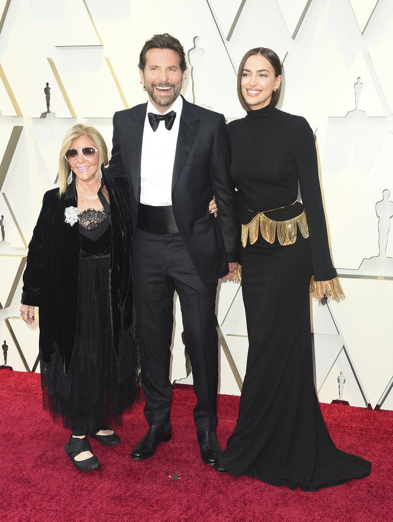 Gloria Campano, Bradley Cooper, Irina Shayk