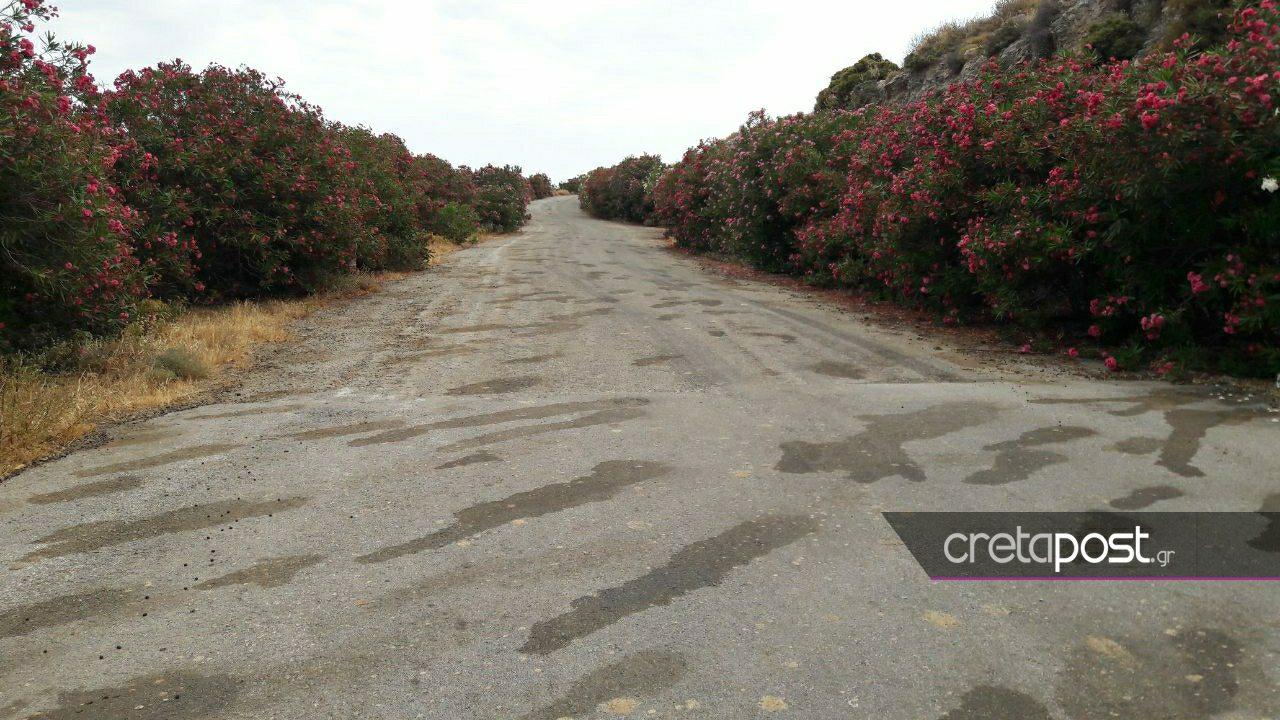 Ο δρόμος όπου δολοφονήθηκε η 60χρονη Suzanne Eaton.