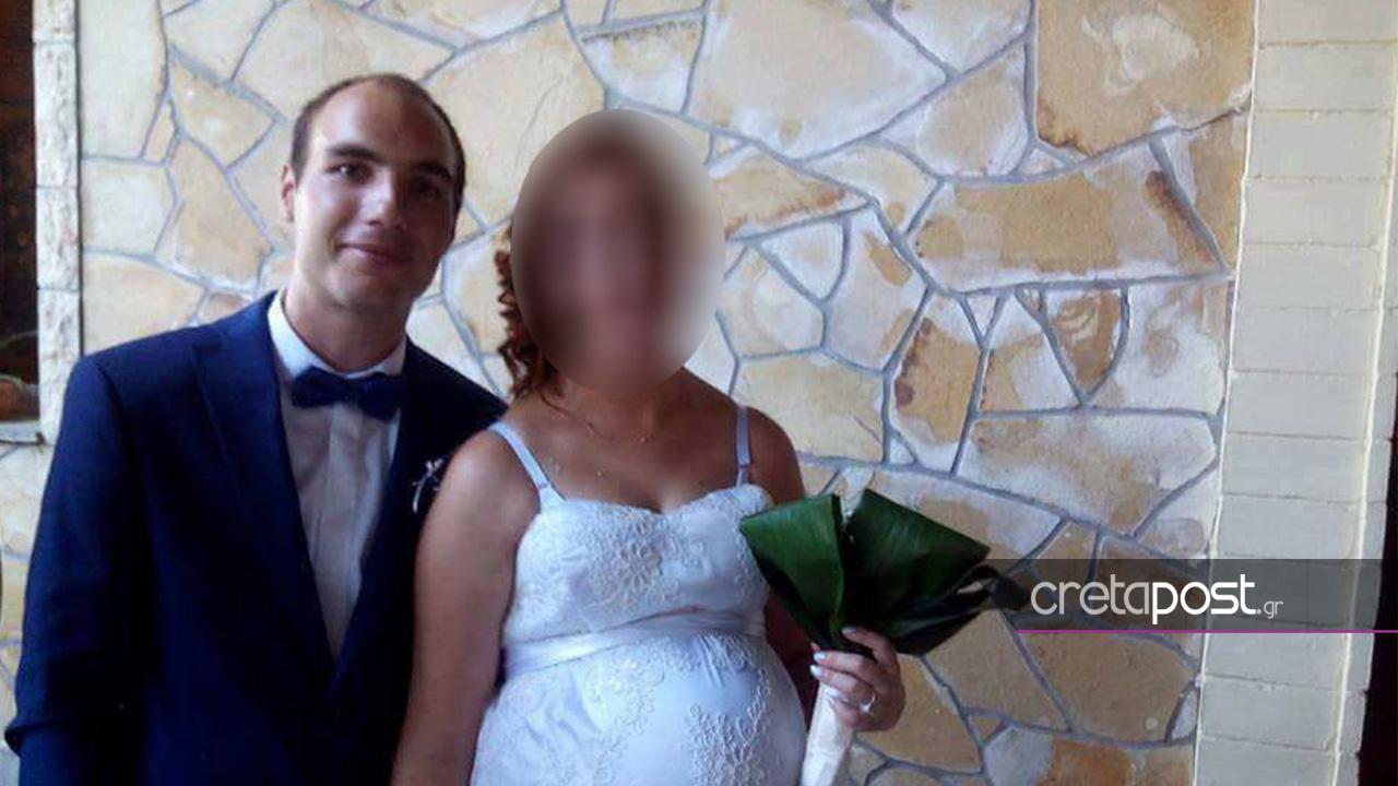 Ο 27χρονος την ημέρα του γάμου του.
