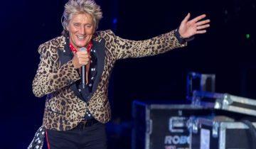 Rod Steward concert in Malaga