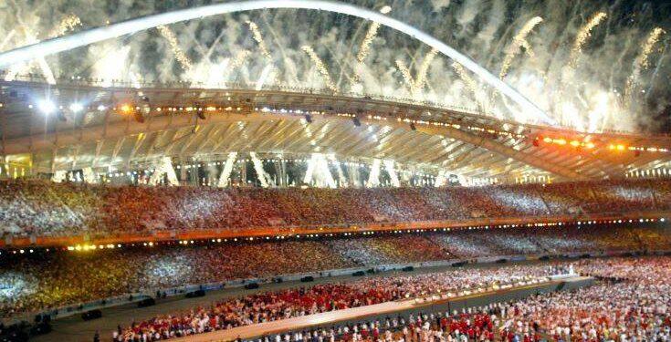 ÔÅËÅÔÇ ËÇÎÇÓ ÏËÕÌÐÉÁÊÙÍ ÁÃÙÍÙÍ 2004 / CLOSING CEREMONY OF THE ATHENS OLYMPIC GAMES 2004