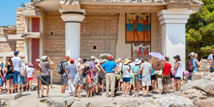 touristes-knossos