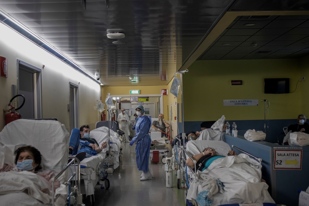Coronavirus Crisis In Bergamo and province