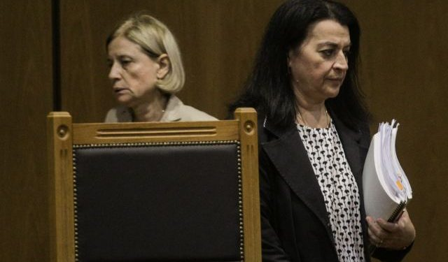 Verdict announcement for the Golden Dawn`s mitigating circumstances during their trial, at the Court of Appeal, in Athens on Oct. 12, 2020 / Aνακοίνωση της απόφασης των ελαφρυντικών, στην δίκη της Χρυσής Αυγής, στο Εφετείο, στην Αθήνα, στις 12 Οκτωβρίου, 2020