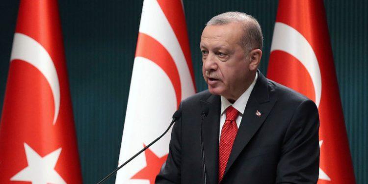 Ο Τούρκος πρόεδρος, Ρετζέπ Ταγίπ Ερντογάν / Φωτογραφία: AP