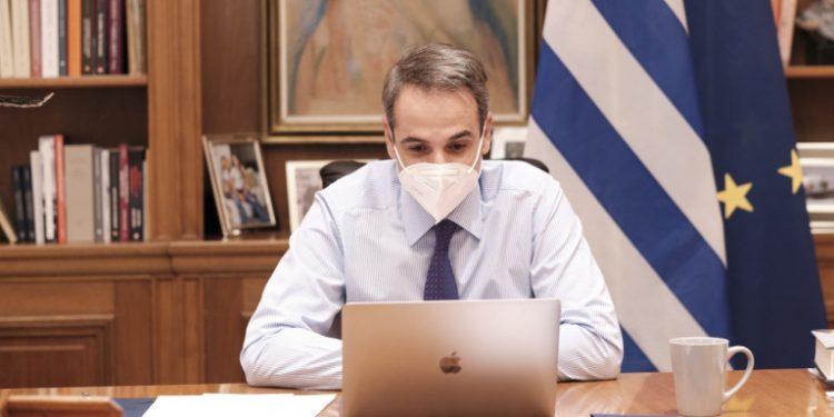 kyriakos-mitsotakis-me-maska-sakellaropoulou-lockdown