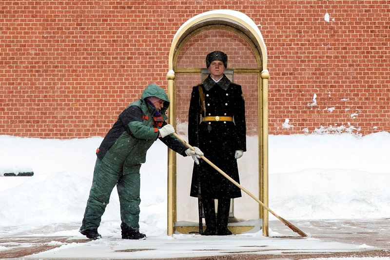 APTOPIX Russia Weather