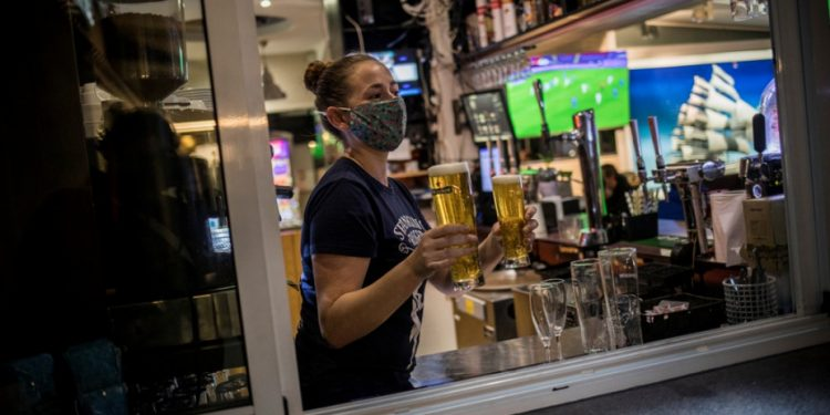 gibraltar-beer-covid-ap