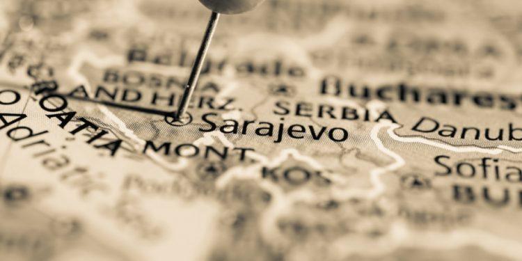 sarajevo-bosnia-herzegovina-balkans-map-st