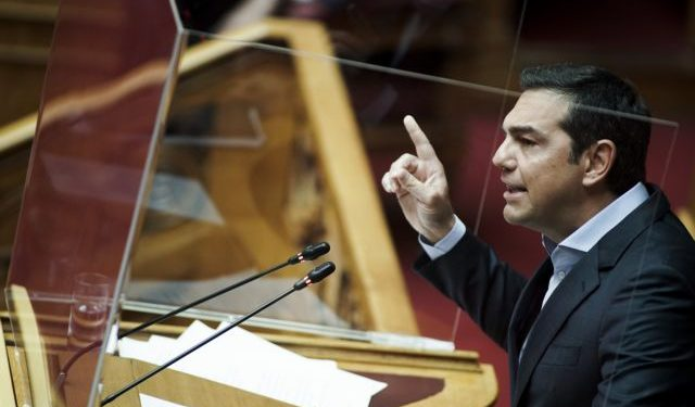 Alexis Tsipras; debate; discussion; lawmaker; Parliament; plenary; plenum; Αλέξης Τσίπρας; Βουλή; Κοινοβούλιο; βουλευτής; ολομέλεια; συζήτηση; συνεδρίαση;