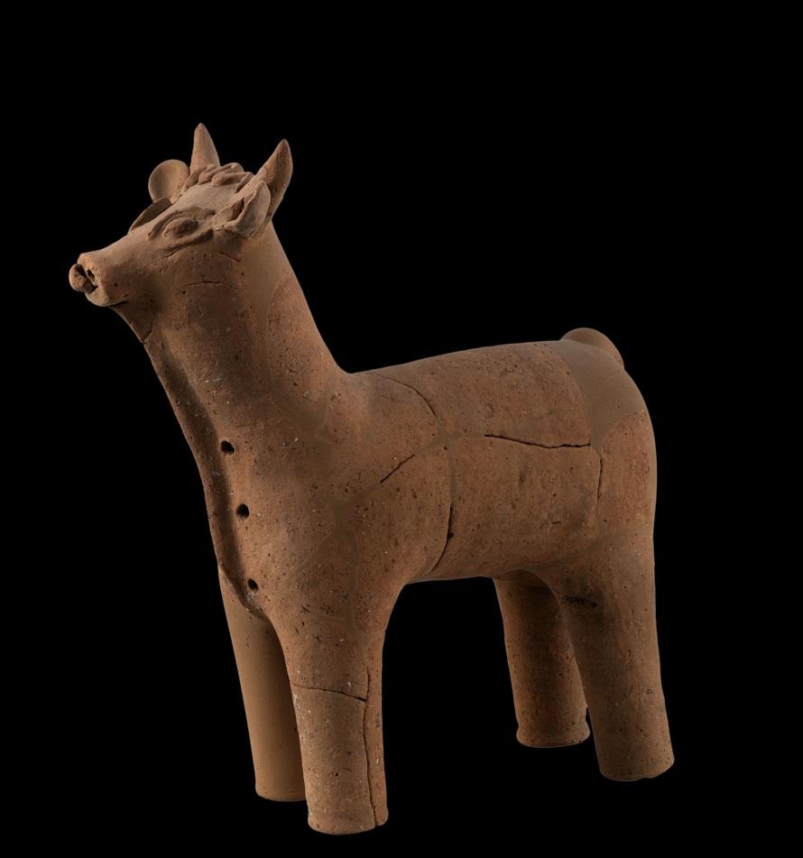 Ειδώλιο ταύρου (4ος-1ος αι. π.Χ.)