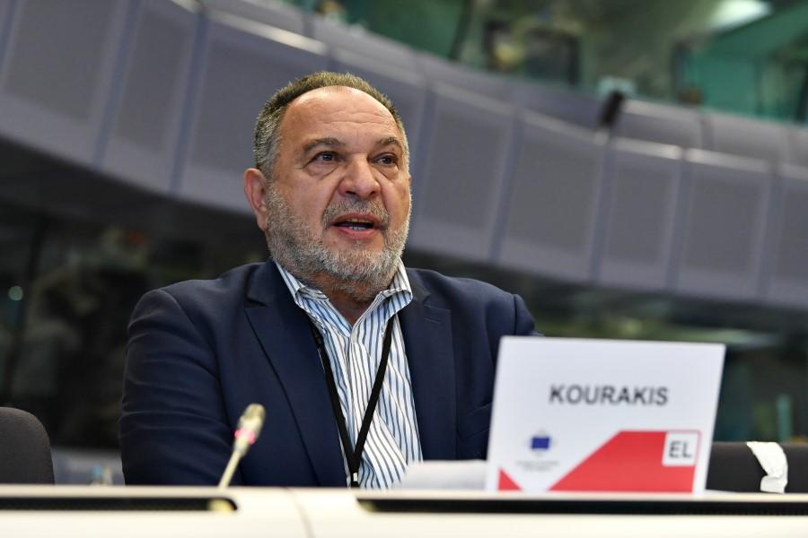 13 October 2021, 146th Plenary Session of the European Committee of the Regions Belgium - Brussels - October 2021 © European Union / John Thys Ioannis KOURAKIS, President of the Regional Union of Municipalities of Crete